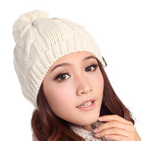 Winter hat knitted hat autumn and winter millinery winter hat women's hat knitted hat 310
