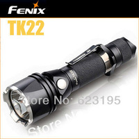 Hot Sale Waterproof 650 Lumens Fenix TK22 CREE XM-L U2 LED Flashlight Free Shipping