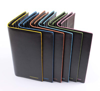 hot selling men's  genuine leather  wallet  Lover's  wallet  candly color free shipping
