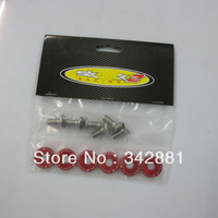 Universal  Password Sk**k2  Aluminum Fender Washers 6 PCS /set