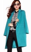 Free Shipping British Style Women Fashion  Autumn Spring Long Jackets, Ladies Long Blazers Coat