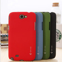 1 Piece Free Shipping SGP Matt Sand Touch Sense Hard Case For Samsung Galaxy Note 2 N7100