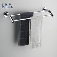 Blue rattan bathroom hardware accessories bathroom copper towel rack towel hanging double bathroom accessories