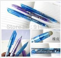 Magic meida erasable pen 0.5 ballpoint pen black blue