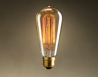 Brand New Edison Bulb Special lighting Filament bulb Art light bulb vintage retro E27 60w Halogen Bulb free shipping