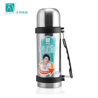 Stainless steel vacuum pot outside sport travel water bottle large capacity thermos vacuum cup