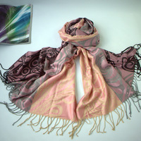 Free shipping!high quality 2013 new style shawl jacquard weave pashmina scarf with 12 colors for women designer fashion A1004