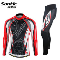bicycle clothing ride long-sleeve set male ride trousers bicycle set male plus size