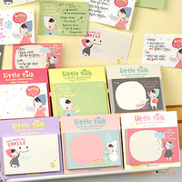 Free shipping scrapbooking paper stationery  ponybrown sticky notes