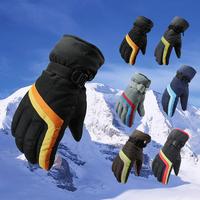 2013 full finger gloves skiing ride thermal windproof waterproof wear-resistant slip-resistant