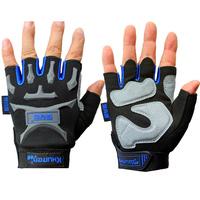 Khuiten ride gloves semi-finger gloves bicycle gloves wear-resistant semi-finger slip-resistant , sitair
