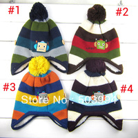 1PCS Retail 4 color New children winter robot assorted colors hat (ERT-10)