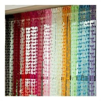 New Heart Panel Line String Tassel Drape Curtain for Wall Door Window Vestibule