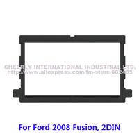 2 Din Car Audio Fitting Frame,Dash Kit, Stereo Fascia Trim Panel,DVD Frame,Fascia Facia Panel Kit for Ford Fusion, 2Din