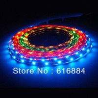 Free Shipping 10M x 60led/M DC12V Flexible LED Strip Light SMD 5050 red/yellow/green/blue/white indoor decoration light