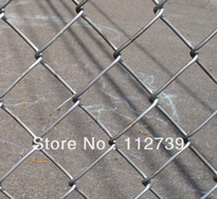 Galvanized Chain Link Fence Supplier, 40mm Opening, Wire Diameter 3.2mm, Common Type
