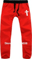 Men and women couple BOYLONDON cross Tide brand casual men's sports trousers wholesale bigbang ,hip-hop pants