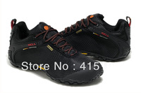 2013 Winter men's shoes warm flats for men lace up high quality boots  hiking shoes trekking shoes, climbing shoes bounce shous