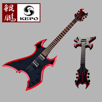 Special promotions genuine KEPO Avenger shaped electric guitar uitar backpacks and other accessories gift