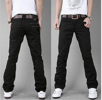 HOT SELL 2013 spring and autumn fashion straight pants men's male casual pants trousers casual trousers