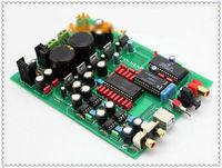 TDA1541 SAA7220 CS8412 Fiber Coax USB DAC Kit WLX