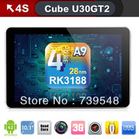 Cube U30GT2 RK3188 Quad Core Camera 5.0MP AF 10.1 inch FHD IPS Retina Screen 1.8GHz  2G 32GB HDMI Bluetooth