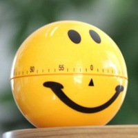 Small tools kitchen timer smiley timer