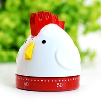 High quality cartoon flat chicken timer kitchen timer reminder