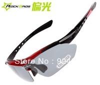 Brand new ROCKBROS bicycle glasses/Sports Eyewear with myopia frame polarized light lens Free shipping