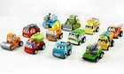 free shipping 12 pieces Pixar Car 4-6cm toys car.(China (Mainland))