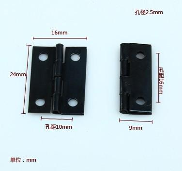2014 Top Fasion Direct Selling Freeshipping 1 Inch Hinge Small Black Iron Little Gift Box(China (Mainland))