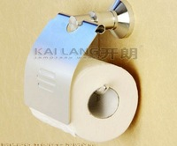 Bathroom holder for toilet paper roll holder with cover anti rust aluminum bathroom accessories