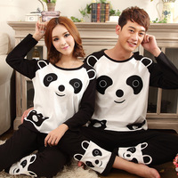2013 sleepwear spring and autumn 100% stereo lovers cotton long-sleeve sleepwear female lounge set