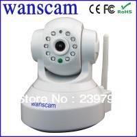 1.0MP 720P HD Pan Tilt Dual Audio H.264 IR Cut Night Vision Wifi CCTV Network IP Camera withTF Micro SD Network baby monitor