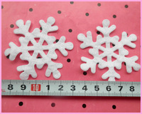 wholesale Free shipping hot sale 100pcs/lot big size snow flower applique for cloth 5.5cm