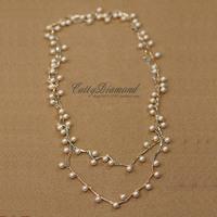 perolas Fashion dynamism pearl long necklace design accessories perolas Perla jewelry collar perlas pearl necklaces & pendants