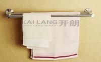 85 series 60cm aluminum slatted double metal bathroom wall shelf and towel hanger shower towel bar wall mountbathroom kit