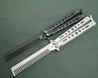 Butterfly train Knife with Styled comb