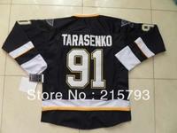 2013 Men's Cheap Ice Hockey Jersey St.Louis 91 Vladimir Tarasenko Dark Blue Jersey Size:48-56 Free Shipping