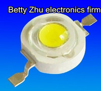 Free shipping 1W High Power LED nature white 100-110LM 6000-6500K