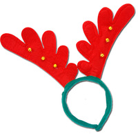 Christmas decoration dress child christmas gift christmas bells antlers headband christmas hair bands