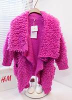 Free shipping + Brief 2013 turn-down collar irregular batwing long-sleeve type circle sweater outerwear female fashion coat