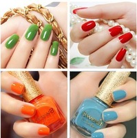 2013 100% high quality sweet color nail polish candy color nail oil factory wholesale products   free shipping