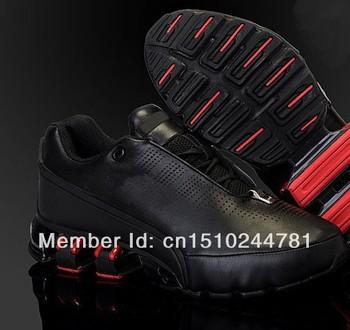 HongKong Fast Ship 2014 Original Leather New P5000 IV Design Brand Boot Waterproof Sport Shoe Men's Athletic Shoes blade shox