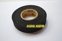VW Car Wiring Harness Adhesive Cloth Fabric Tape 19mm*15m Tape 51608 For Car Motorcycle Cable Harness Wiring Free Shipping