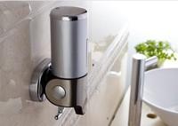 500ML bathroom Wall Mounted stainless steel hand liquid Soap dispenser shower Shampoo foam dispensador accessories for bathroom