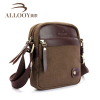 Free shopping Casual 100% cotton canvas bag new 2014 men messenger bags hot selling men luggage & travel bags
