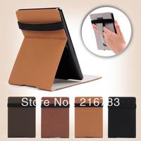 10Pcs/Lot 2014 New Luxury Retro High Quality Smart Flip PU Leather Case for Amazon Kindle Paperwhite Free Shipping