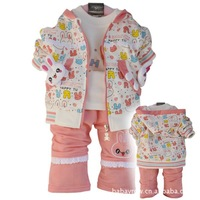 brand baby clothing2013 Spring Valley brand children's clothing infant posture No. 013baby clothes set EMS free shipping