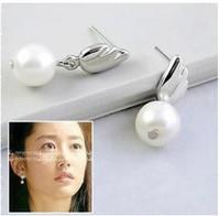 David jewelry wholesale E224 pearl stud earring women jewelry earring channel earrings women fashion jewelry cute jewelry